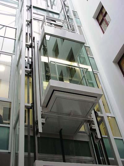 Πανοραμικός ανελκυστήρας Alco lift