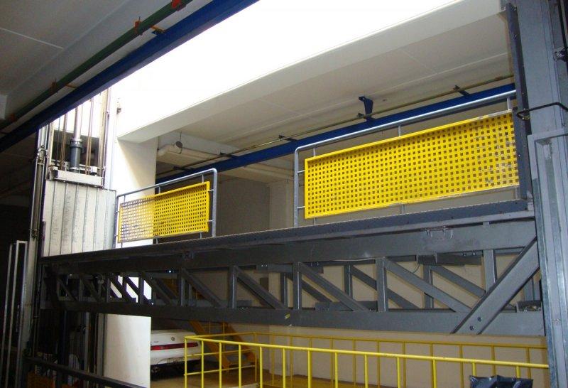 Ειδική κατασκευή πλατφόρμας Alco lift
