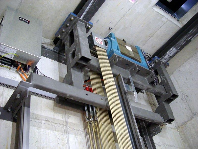Ανελκυστήρας MRL Alco lift