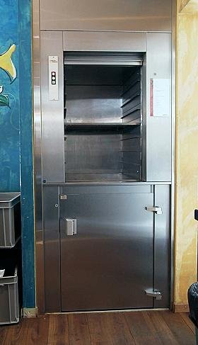 Μικρό ασανσέρ τροφίμων Alco lift
